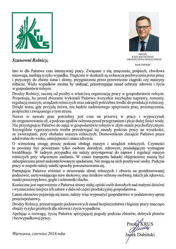 plakat - Apel Prezesa KRUS do rolników lato 2016.jpeg