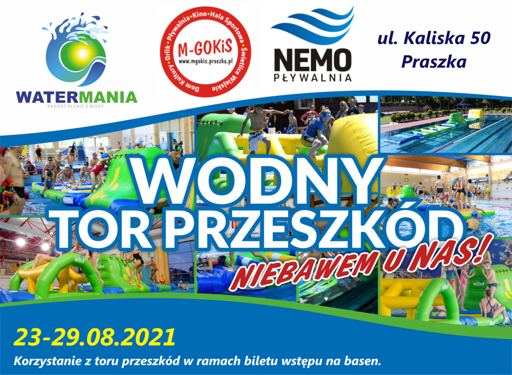 WATERMANIA plakat Praszka Wakacje2021.png
