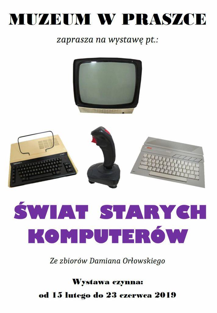 Plakat Świat starych komputerów.jpeg