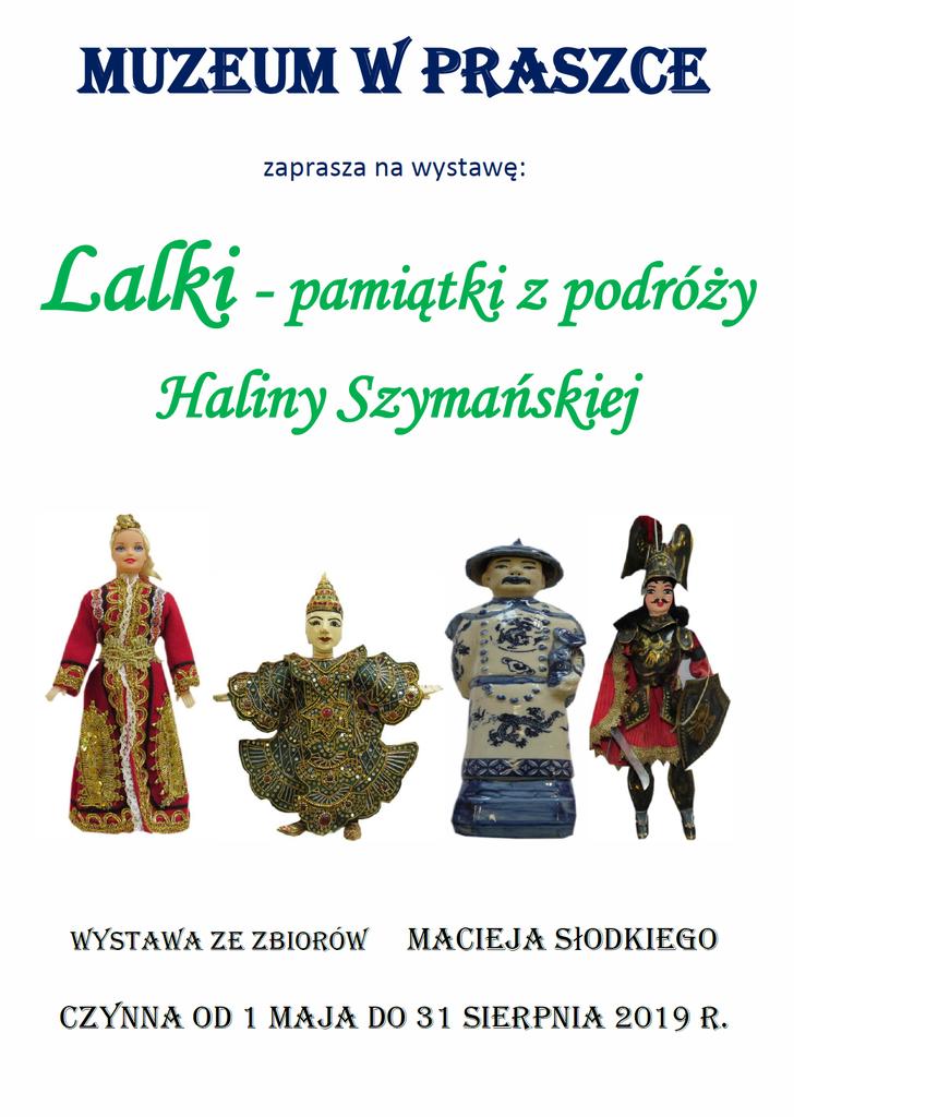 Plakat Lalki-pamiątki z podróży Haliny Szymańskiej.png