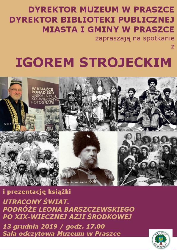 Plakat promujący spotkanie